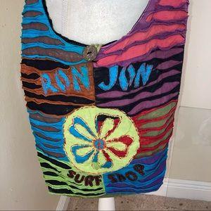 Ron Jon Surf Shop Boho Distressed Crossbody Bag